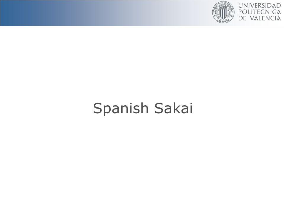 Spanish Sakai