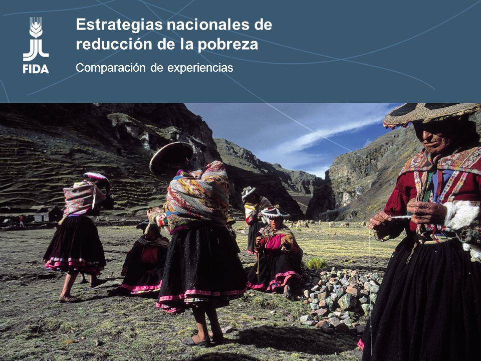 Estrategias nacionales de reducción de la pobreza rural Estrategias nacionales de reducción de la pobreza Comparación de experiencias