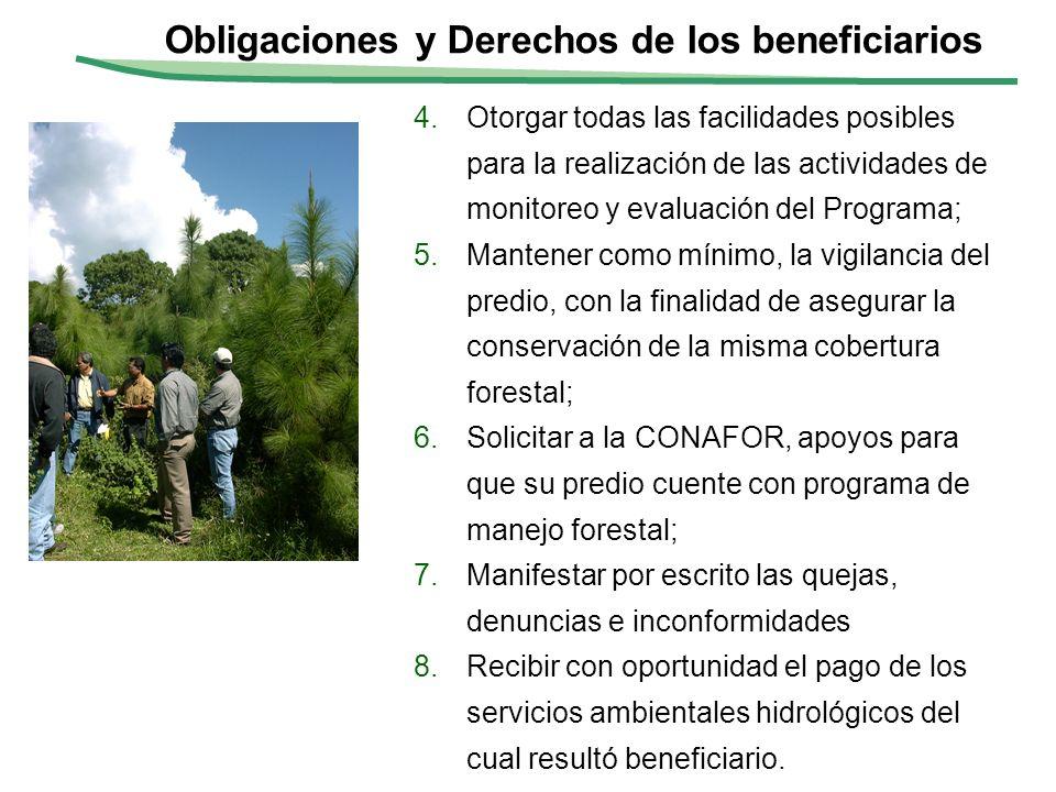 II-10 4.Otorgar todas las facilidades posibles para la realización de las actividades de monitoreo y evaluación del Programa; 5.Mantener como mínimo,
