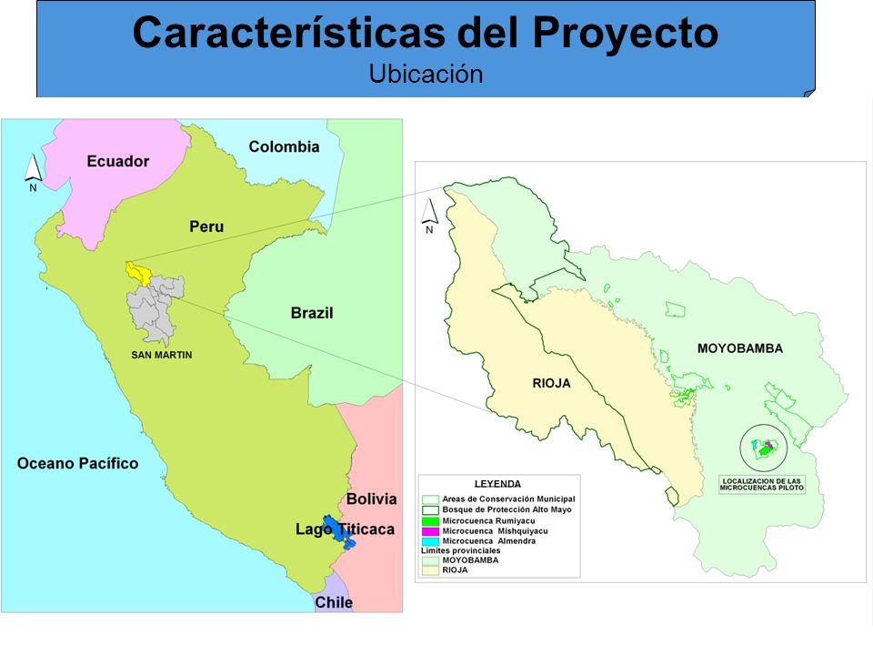 Características del Proyecto Ubicación