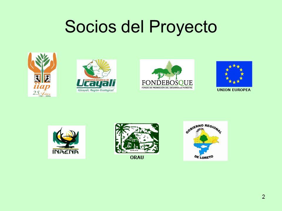 13 Objetivos Mejorar las condiciones de vida de las poblaciones mediante el manejo sostenible de sus recursos forestales Contribuir a la institucionalización del MFC aportando propuestas de normas, procesos y modelos validados