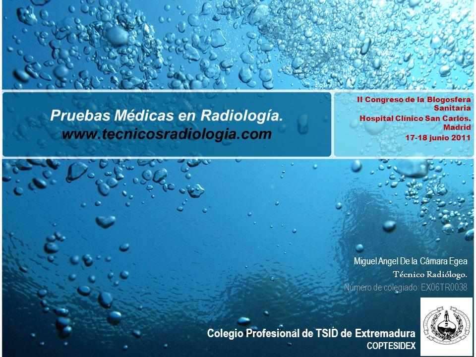 Introducción Tecnicos Radiologos (www.tecnicosradiologia.com) es un proyecto basado en la difusión de Información de Política Sanitaria, Innovación de Tecnología Imagenológica, Motivación en las buenas prácticas e información sobre los efectos de las Radiaciones Ionizanteswww.tecnicosradiologia.com