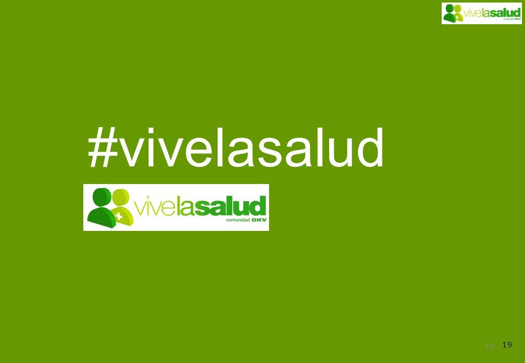 19 #vivelasalud
