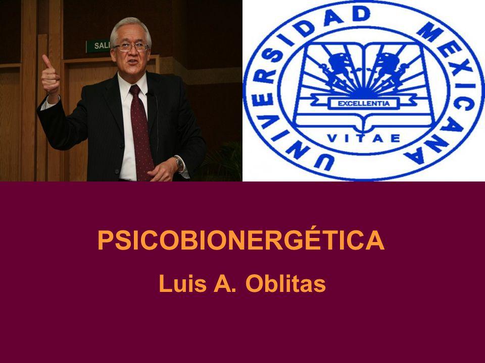 PSICOBIONERGÉTICA Luis A. Oblitas
