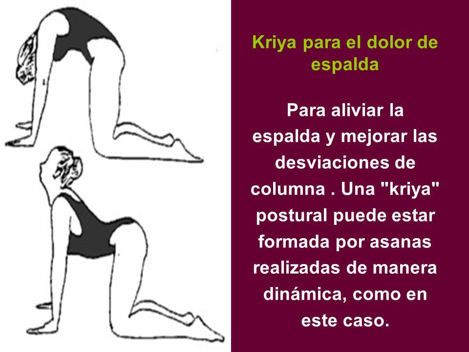Kriya para el dolor de espalda Para aliviar la espalda y mejorar las desviaciones de columna.