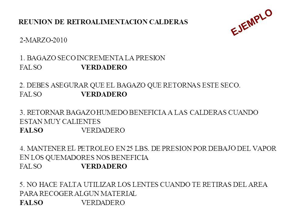 REUNION DE RETROALIMENTACION CALDERAS 2-MARZO-2010 1.