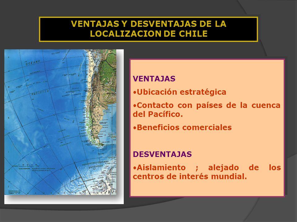 Chile Localizacion Absoluta la Localizacion de Chile