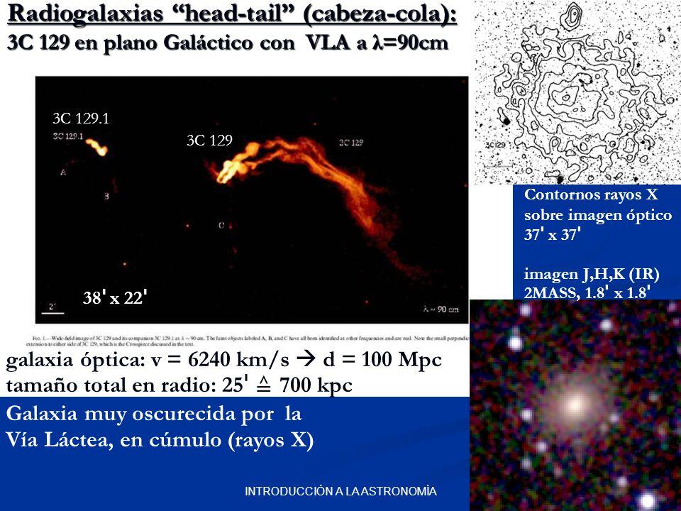Resultado de imagen de Galaxia head-tail