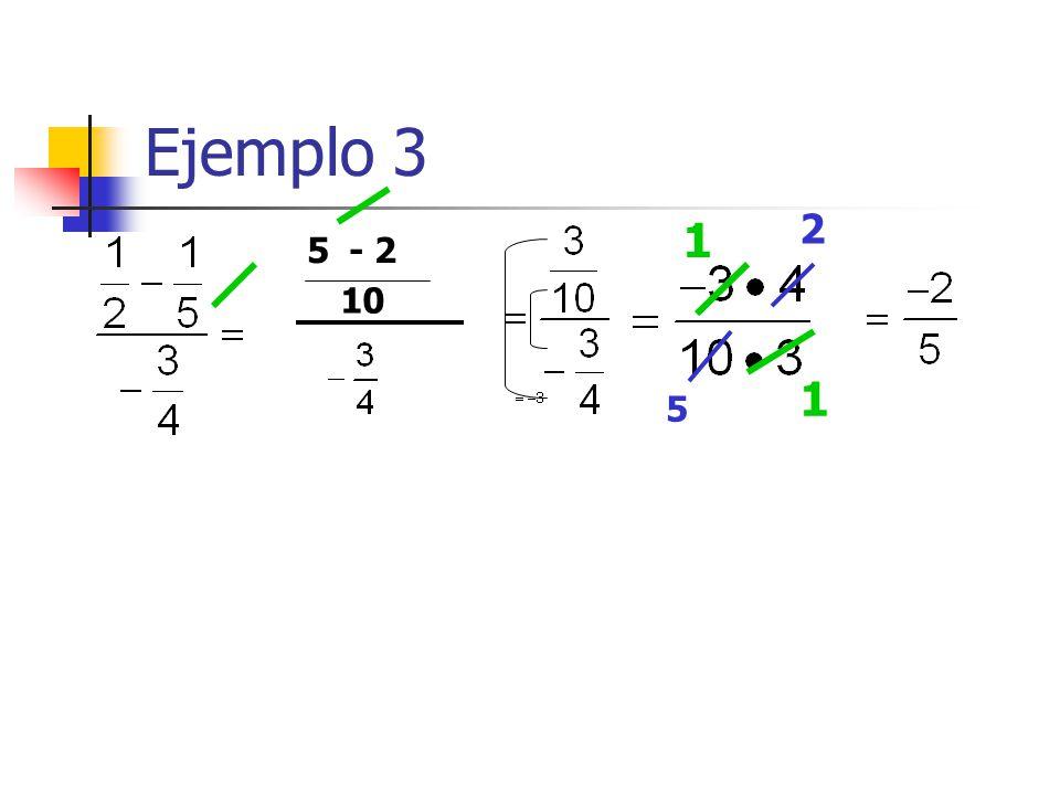Ejemplo 3 1 1 5- 2 10 2 5