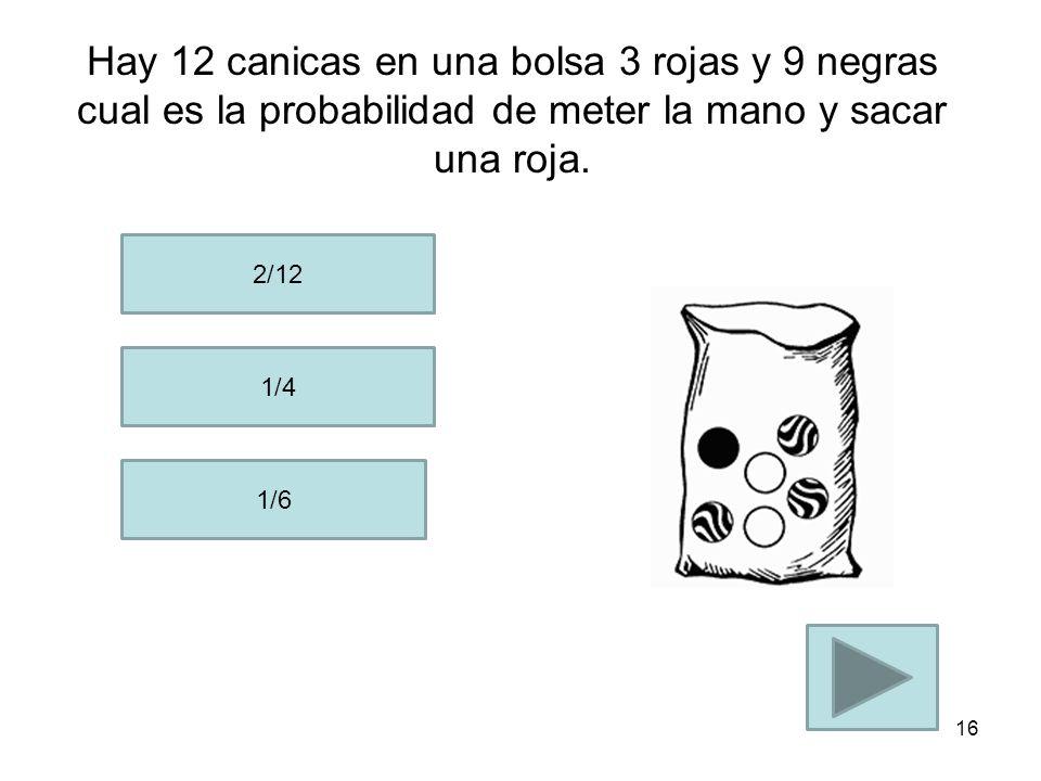 La probabilidad de obtener una J y que sea negra es de : 4/52 1/2 1/26 15