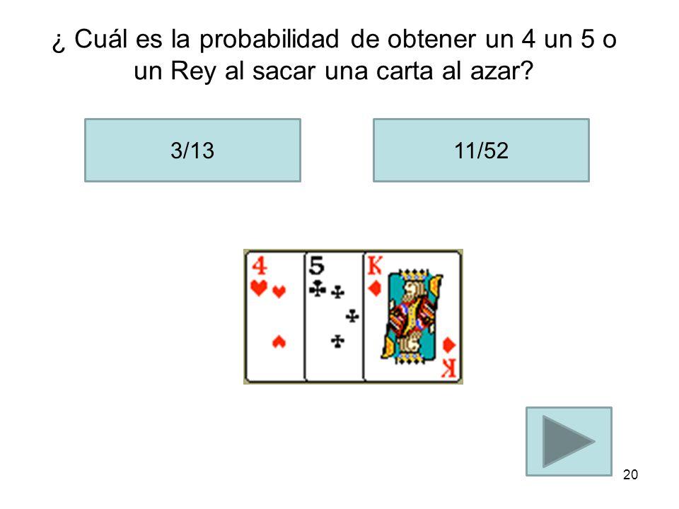 La probabilidad de abrir la puerta con el premio seria de: 2/3 1/3 19