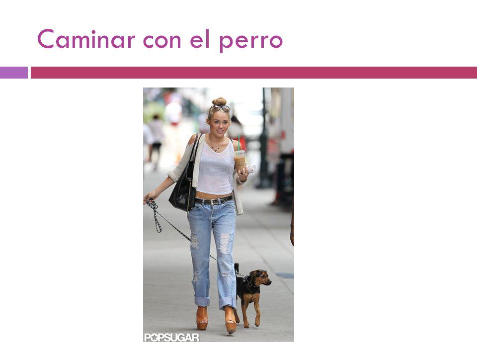 Caminar con el perro