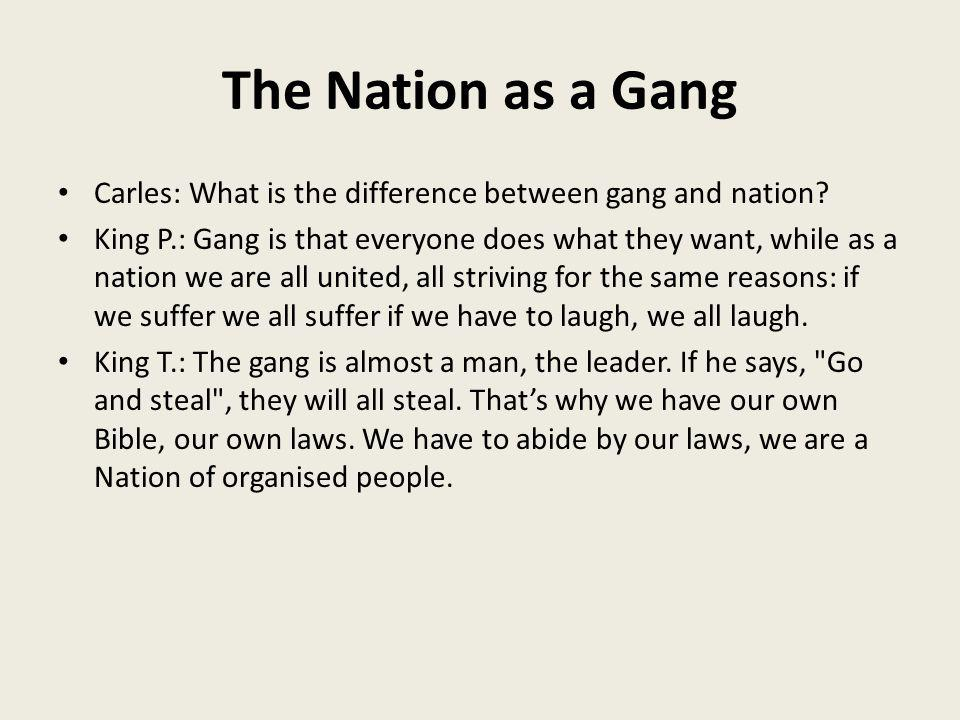 the differences between a club and a gang