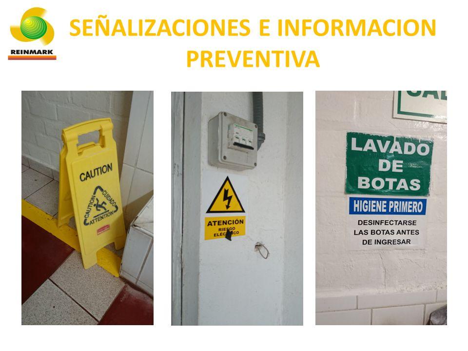 USO DE DESINFECTANTES