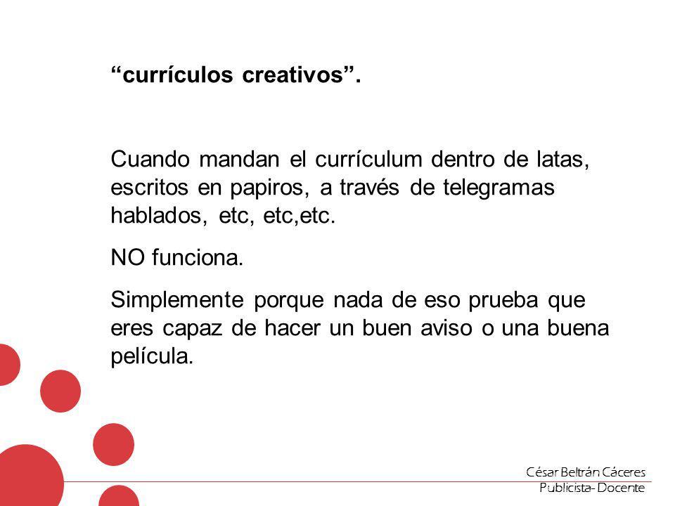 """currículos creativos"""". Cuando mandan el currículum dentro de latas ..."""