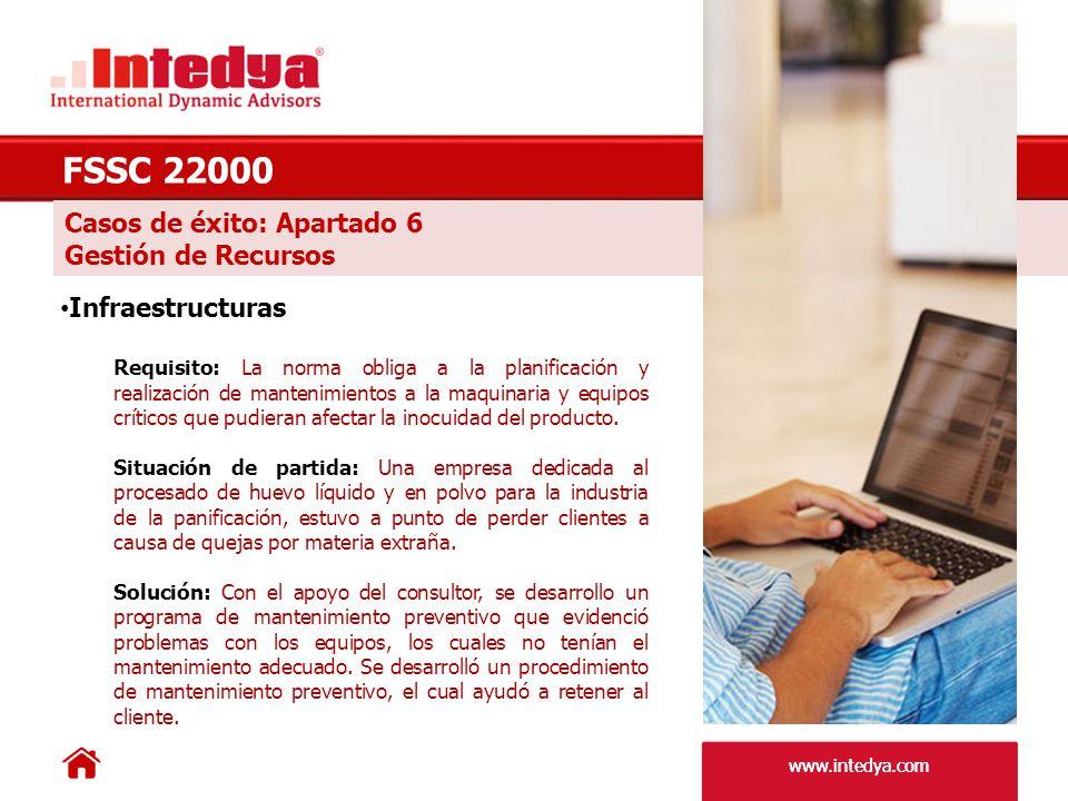 www.intedya.com Casos de éxito: Apartado 7.