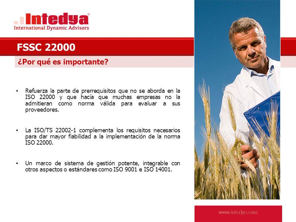 www.intedya.com Beneficios para la propia Organización www.intedya.com El nuevo esquema es creíble, independiente y respetado.