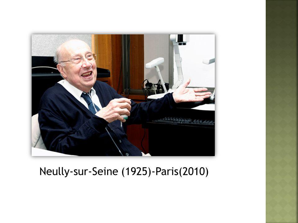 Neully-sur-Seine (1925)-Paris(2010)