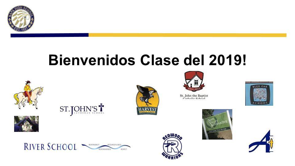 Bienvenidos Clase del 2019!