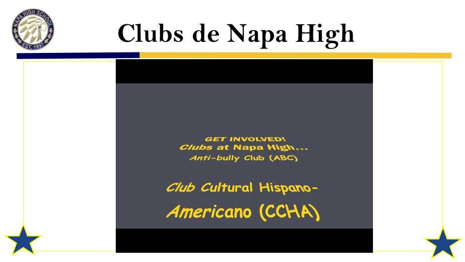 Clubs de Napa High