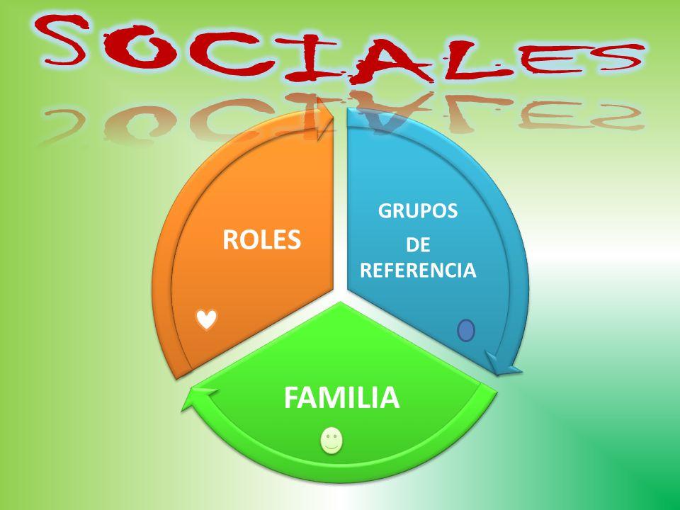 GRUPOS DE REFERENCIA FAMILIA ROLES