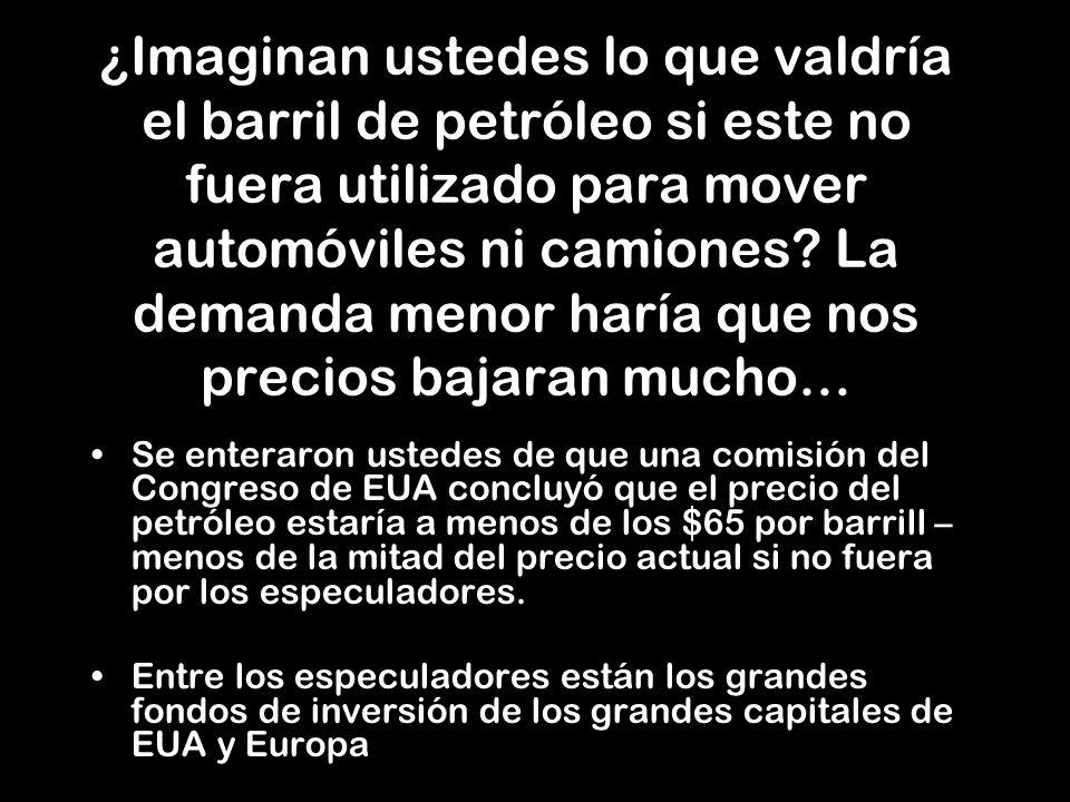 ¡Por culpa de la misma mafia bancaria y petrolera que controla al planeta!