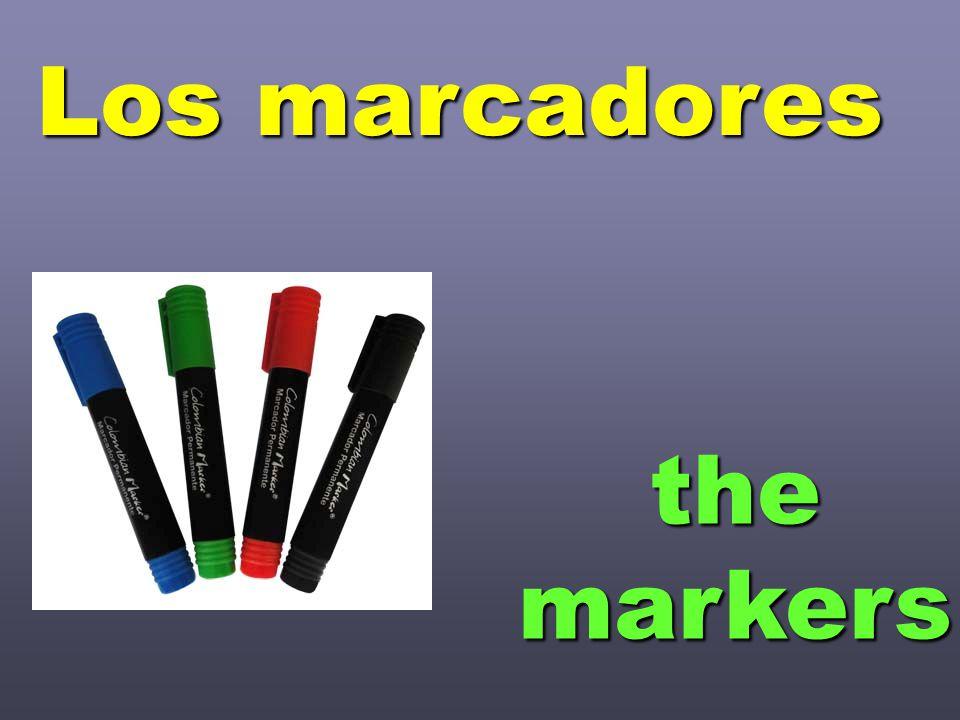 themarkers Los marcadores