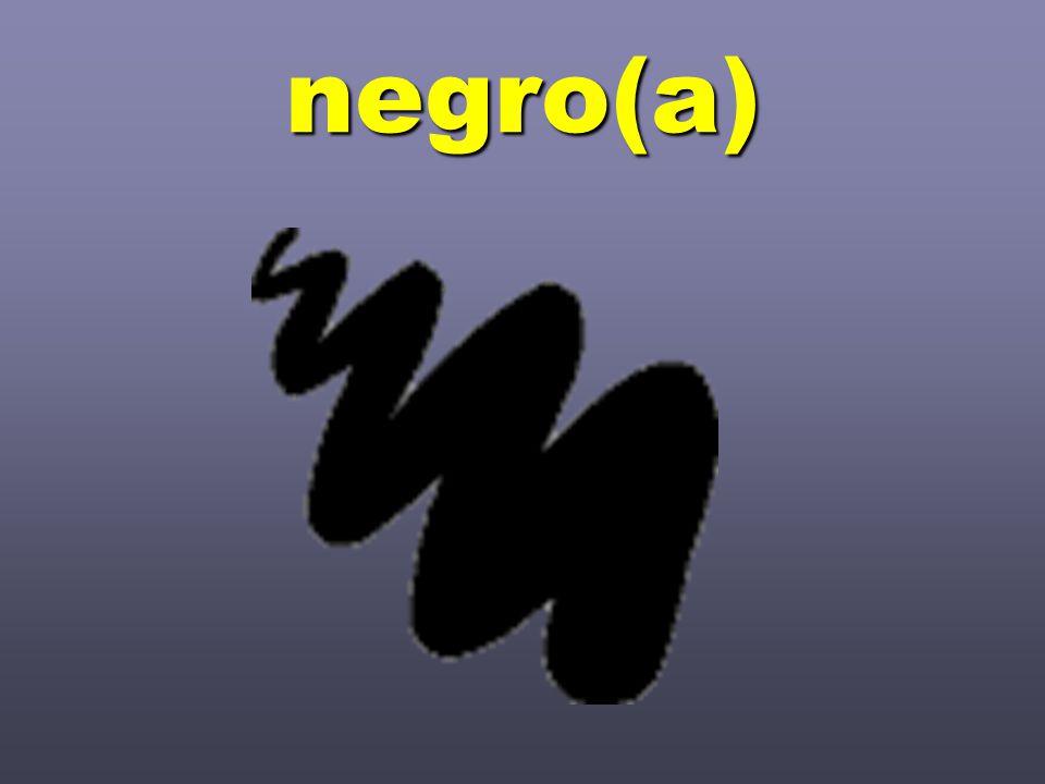 negro(a)
