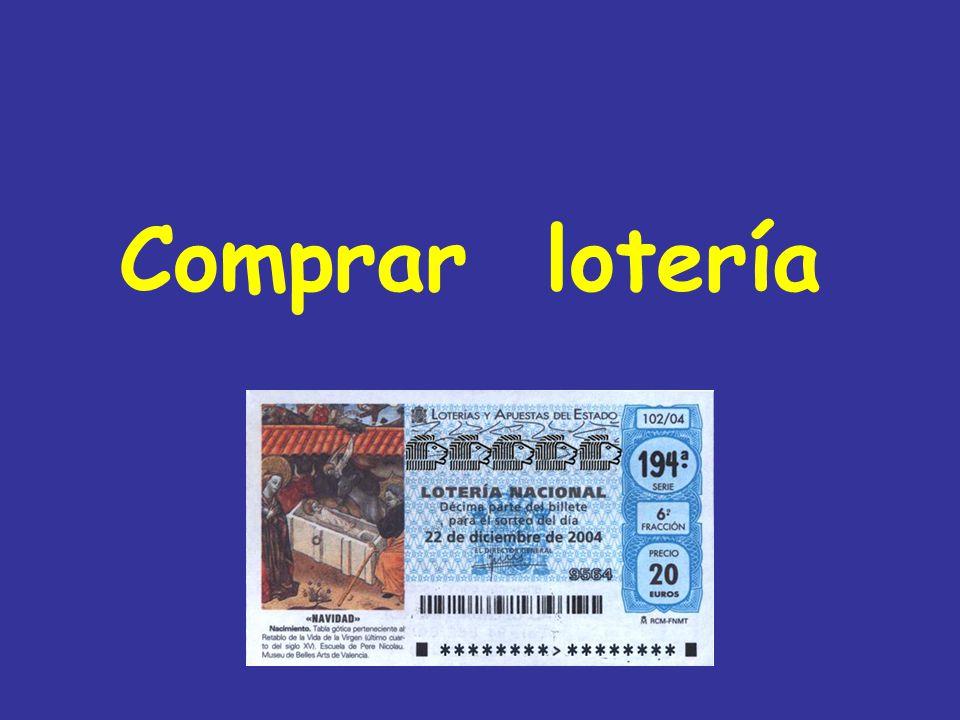 Comprar lotería
