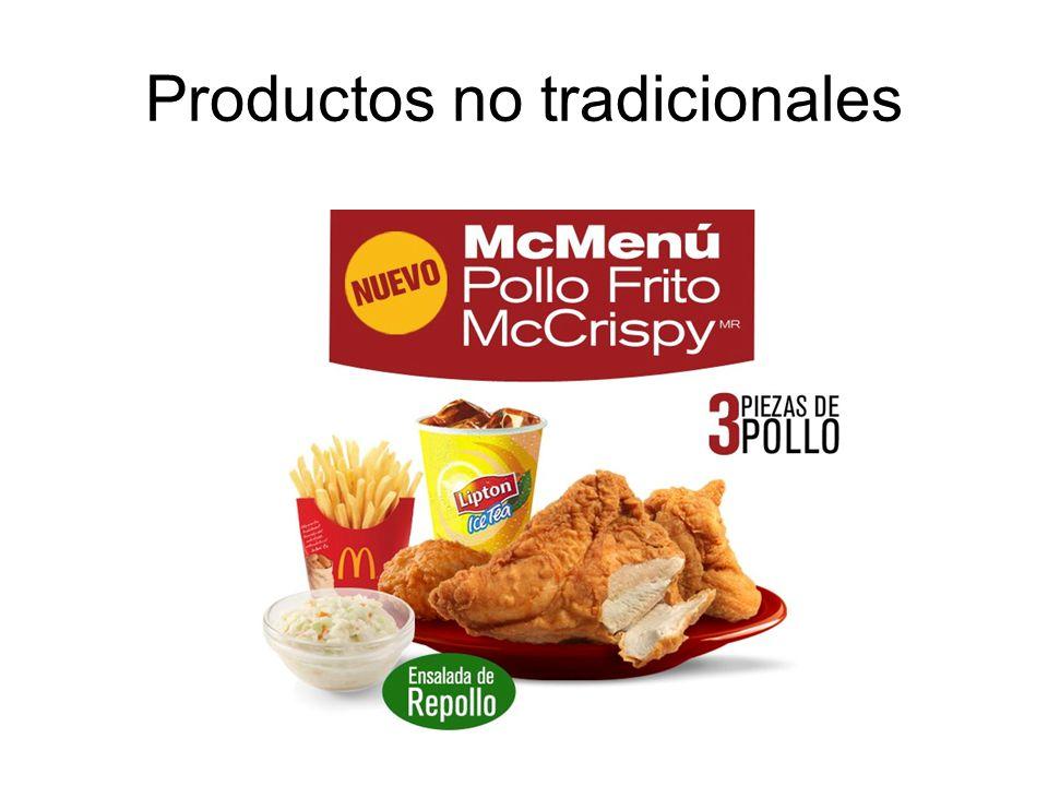 Productos no tradicionales
