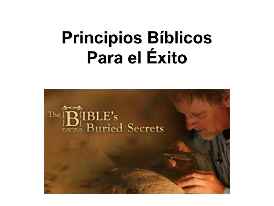 Principios Bíblicos Para el Éxito.