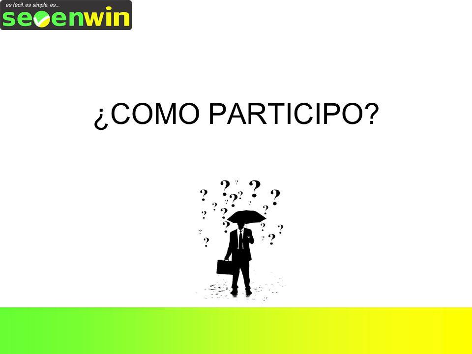 ¿COMO PARTICIPO