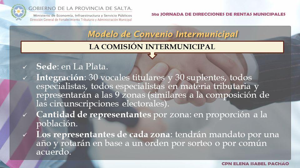 Sede : en La Plata.