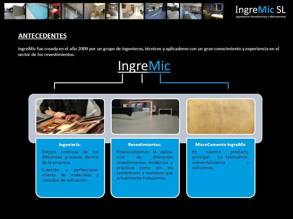 IngreMic Ingeniería: Mejora continua de los diferentes procesos dentro de la empresa.