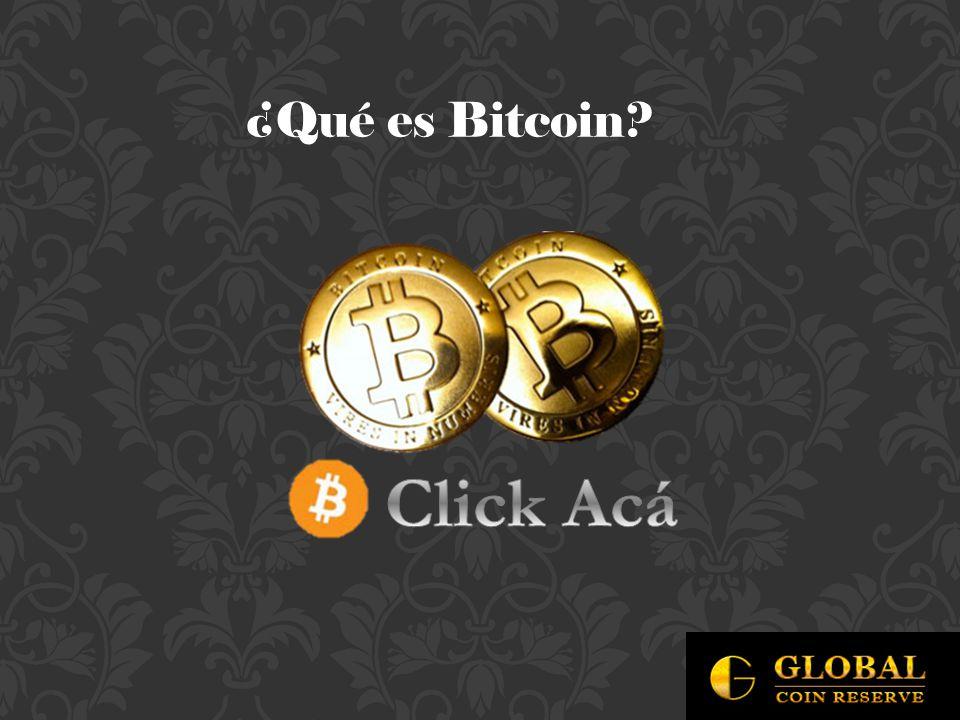 ¿Qué es Bitcoin