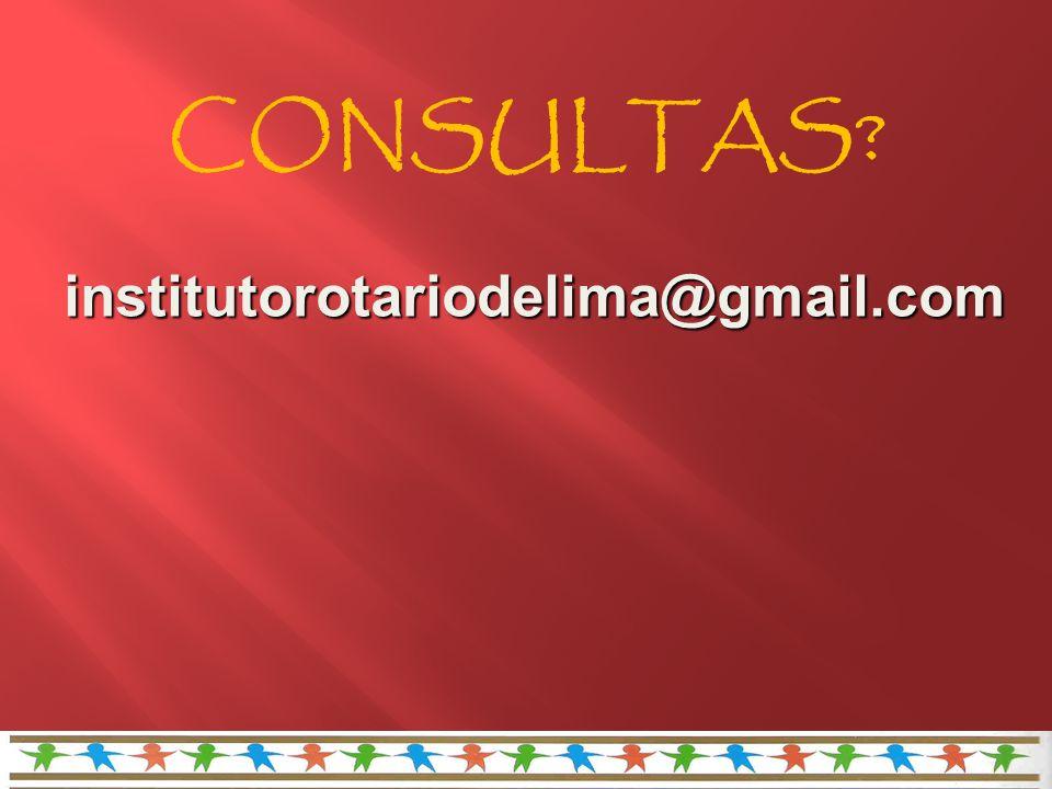 institutorotariodelima@gmail.com CONSULTAS