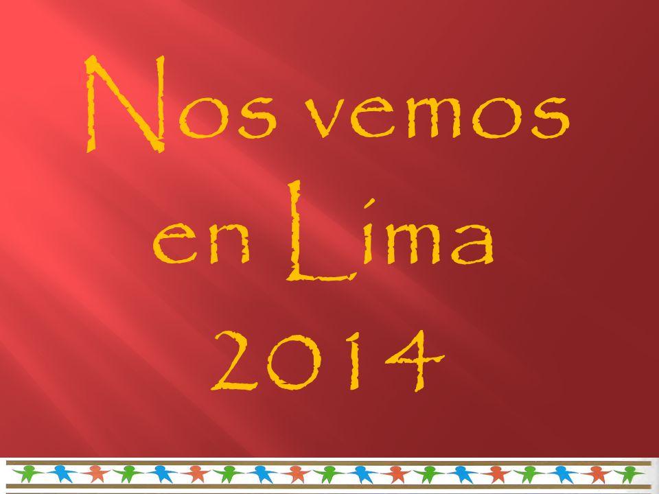 Nos vemos en Lima 2014