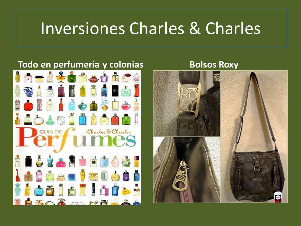 Inversiones Charles & Charles Todo en perfumería y colonias Bolsos Roxy