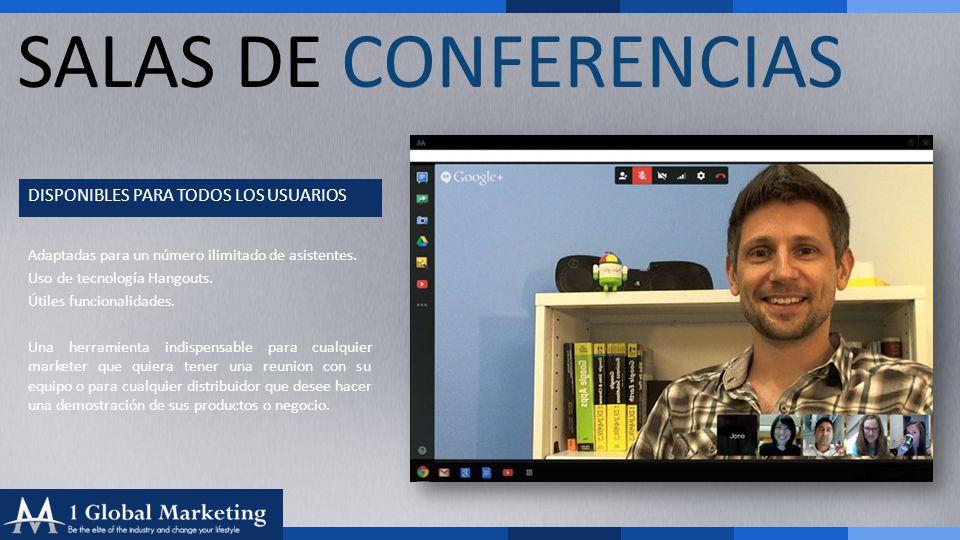 Your COmpany www.yourcompa ny.com SALAS DE CONFERENCIAS DISPONIBLES PARA TODOS LOS USUARIOS Adaptadas para un número ilimitado de asistentes.