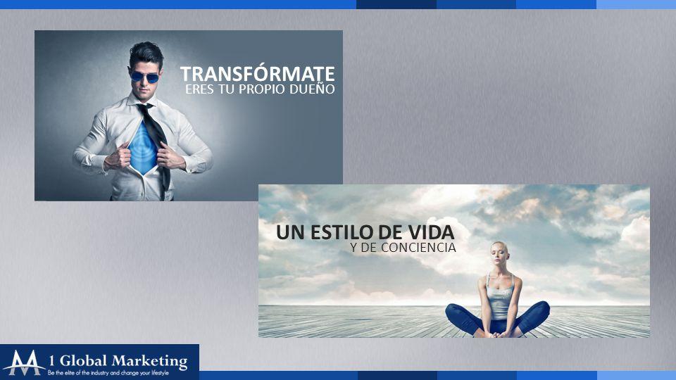 Your COmpany www.yourcompa ny.com TRANSFÓRMATE UN ESTILO DE VIDA ERES TU PROPIO DUEÑO Y DE CONCIENCIA