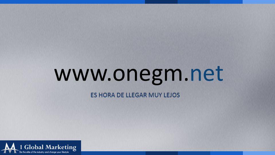 Your COmpany www.yourcompa ny.com www.onegm.net ES HORA DE LLEGAR MUY LEJOS