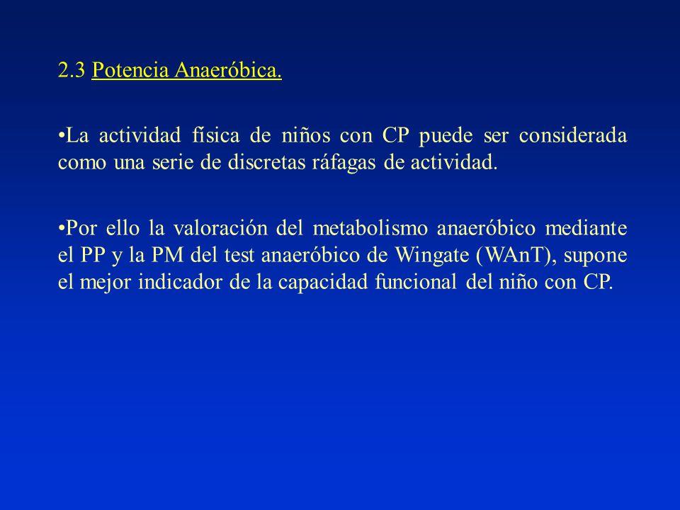 2.3 Potencia Anaeróbica.