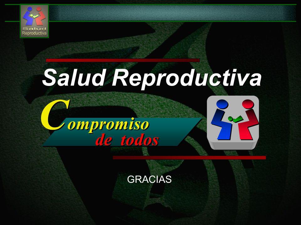 Salud Reproductiva C ompromiso de todos C ompromiso de todos GRACIAS