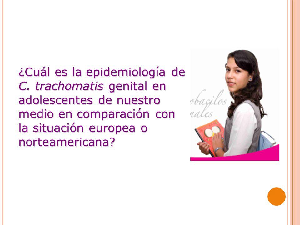 ¿Cuál es la epidemiología de C.