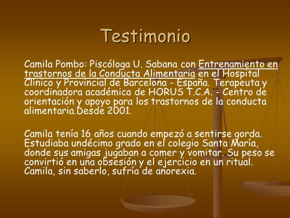 Testimonio Camila Pombo: Piscóloga U.