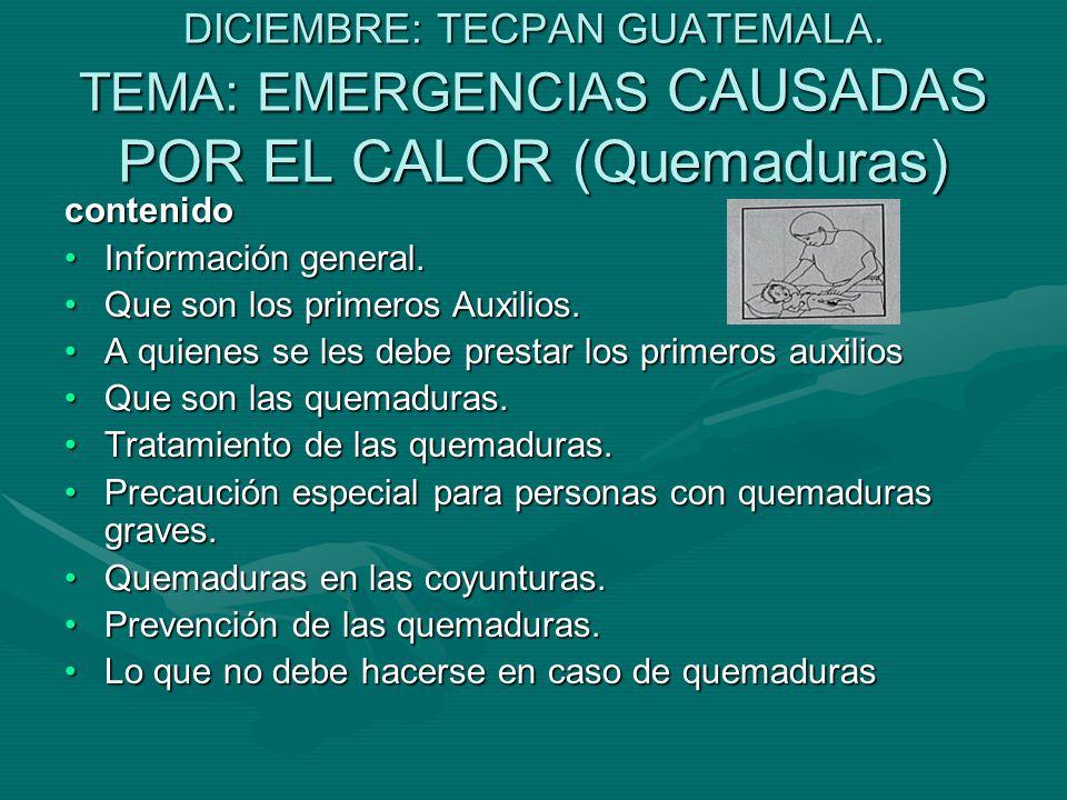 DICIEMBRE: TECPAN GUATEMALA.