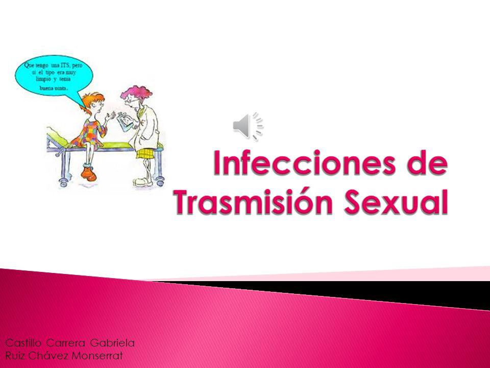  Las Infecciones de Transmisión Sexual (ITS) son infecciones que se transmiten de una persona infectada a otra persona a través del contacto directo con el cuerpo o del contacto con líquidos infectados del cuerpo.