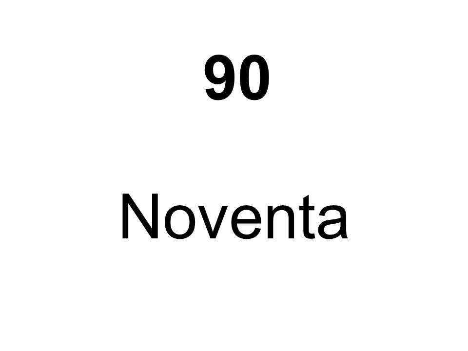Noventa