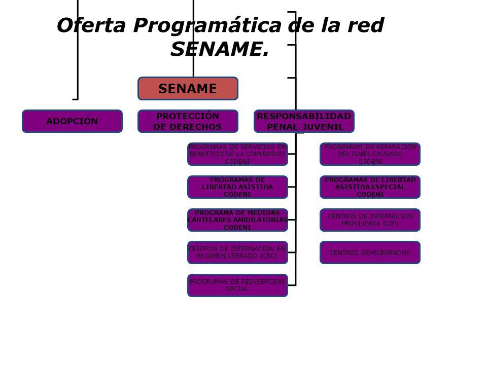 Oferta Programática de la red SENAME.