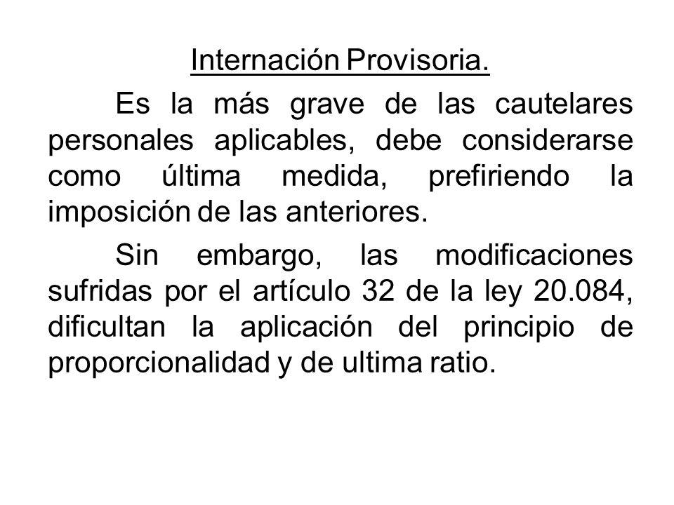 Internación Provisoria.